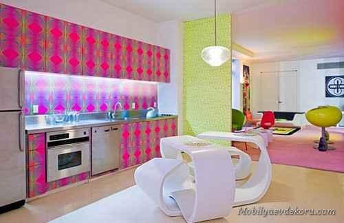 mutfak dekorasyonu 4 Mutfak Dekorasyonları