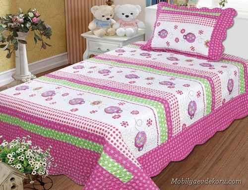 Pembe Yatak Odası Modelleri 2014