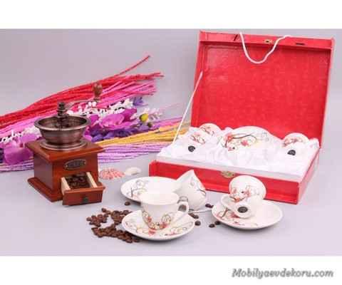 turk kahvesi fincan takimlari 6 Türk Kahvesi Fincan Takımları