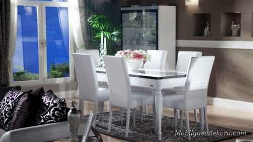 Yemek Odası Modelleri 2014