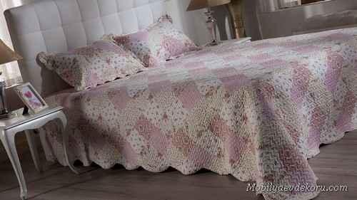 Yatak örtüsü modelleri 2015