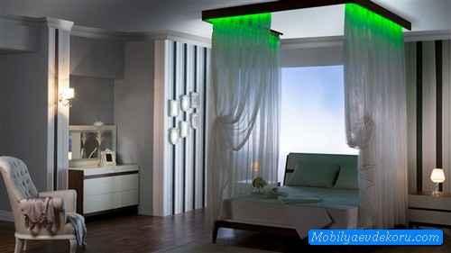 Cibinlikli Yatak Odası Örnekleri