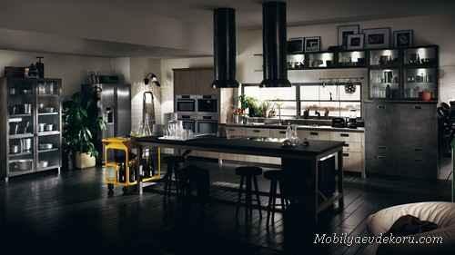 İtalyan Tasarımlı Mutfak Modelleri