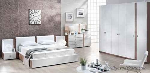 Yatak odası vintage