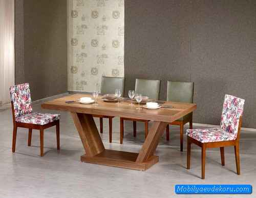 Yemek Masası Modelleri 2015