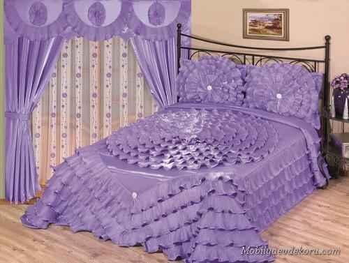 yatak odasi perde modeli
