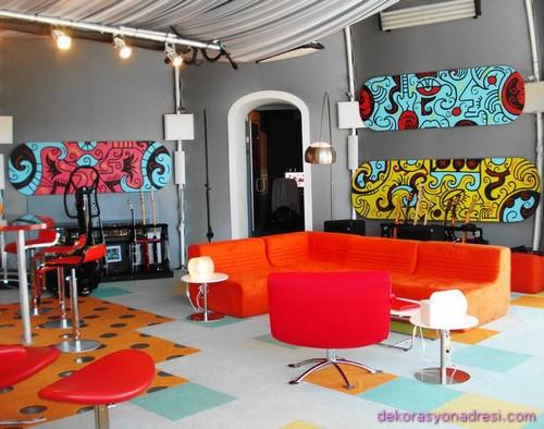 renkli ev dekorasyonları-1