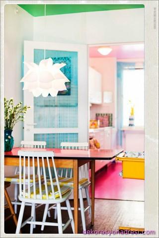 renkli ev dekorasyonları-2