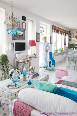 renkli ev dekorasyonları-8